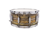 "Ludwig 14 x 6.5"" Raw Brass Phonic Snare Drum"