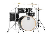 "Special Edition Mapex Mars 5 piece Kit (22"", 10"", 12"", 16"", 14""snr) w/ Hardware (Midnight Black)"