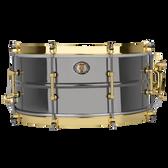 "Ludwig 14 x 6.5"" 110th Anniversary Black Beauty Brass Snare w/ Anniversary Bag"