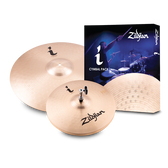 "Zildjian i Series Essentials Cymbal Pack (14"" Hi-Hats, 18"" Crash/Ride)"