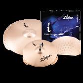 """Zildjian i Series Essentials Cymbal Pack (14"""" Hi-Hats, 18"""" Crash/Ride)"""