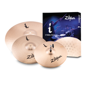 "Zildjian i Series Standard Gig Cymbal Pack (14"" Hi-Hats, 16"" Crash, 20"" Ride)"