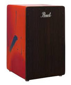 Pearl Primero Cajon - Abstract Red