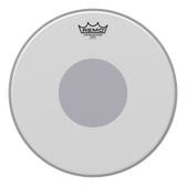 """Remo 14"""" Controlled Sound Coated White Dot"""