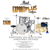 "Pearl EXPORT PLUS  22"" FUSION PLUS KIT PACKAGE"
