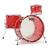 "Natal Arcadia Acrylic - Red Shell Pack (22"", 12"", 16"")"