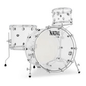 "Natal Arcadia Acrylic - Transparent Shell Pack (22"", 12"", 16"")"