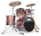 "Natal Originals MAPLE - Copper Sparkle FAST Shell Pack (22"", 10"", 12"", 16"", + 14""SNR)"