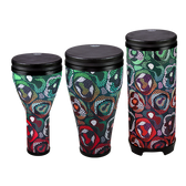 REMO - Festival drum combo Pack in Tribal Green