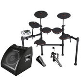 Carlsbro Bundle - CSD180 E-Kit & EDA 30 Drum Amplifier