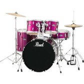"Pearl Roadshow - 22"" FUSION PLUS KIT W/ HARDWARE, CYMBALS & STOOL"