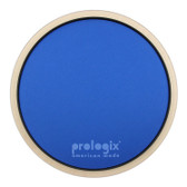 "Pro Logix 12"" Blue Lightning Practice Pad with Rim - Heavy Resistance"