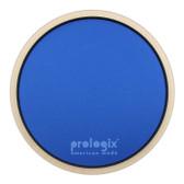 "Pro Logix 12"" Blue Lightning Practice Pad with Rim - Heavy Resistance"
