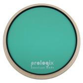 "Pro Logix 12"" Green Logix Practice Pad with Rim - Light Resistance"