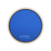 "Pro Logix 8"" Blue Lightning Practice Pad with Rim - Heavy Resistance"