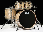 "DW Collectors - Crème Oyster 4pce Shell Set (22"", 10"", 12"", 16"")"
