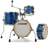 """Sonor AQX - Micro w/ Bass Drum Riser and Cymbal / Tom Holder (14"""", 8"""", 13"""" + 13x6"""" snr)"""