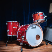 """Pearl Masters Maple Complete - 3 Piece Shell Set in Vermillion Sparkle (20"""", 12"""", 14"""")"""