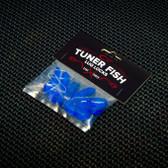 Tuner Fish Lug Locks Blue 8 Pack