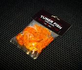 Tuner Fish Lug Locks Orange 24 Pack