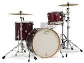 "DW Design Limited Edition Crimson Satin Metallic Shell Pack (22"", 12"", 16"", + 14""x6.5"" SNR)"