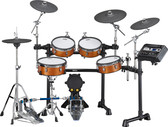 Yamaha DTX8 Mesh Electronic Drum Kit in Real Wood