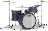 """Pearl President 75th Anniversary Series Shell Set with Lauan Shells in Ocean Ripple (12"""", 14"""", 20"""", + Matching 14"""" Snare)"""