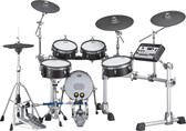YAMAHA DTX10 MESH ELECTRONIC DRUM KIT IN BLACK FOREST