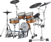 YAMAHA DTX10 MESH ELECTRONIC DRUM KIT IN REAL WOOD