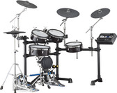 Yamaha DTX8 Silicone Electronic Drum Kit in Black Forest