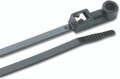 "Ancor - 11"" UV Black Mnt Self-Cut Cable Ties- 20 Pk - 199303"