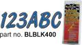 Hardline - Letter/Number Set, White/Black - WHBKG400
