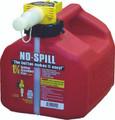No-spill - Gas Can 1.25 Gal 7.5x8x10 - 1415