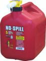 No-spill - Gas Can 5 Gal 13.75x10x15 - 1450