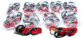 "Fire Power - 1"" Tie-down Red 10/pairs - 21261BULK"