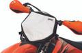 Holeshot - Front Number Plate Bag Black - 80026660