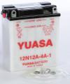 Yuasa - Battery 12n12a-4a-1 Conventional - YUAM2221B