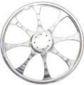 "Tki - 8-spoke Billet Wheel Natural 9"" - TKI-098"