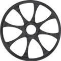 """Tki - 8-spoke Billet Wheel Black 10"""" - TKI-108-BK"""