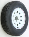 Awc - Trailer Tire And Wheel Assembly White - TA2055012-71R205C-X