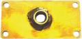 """Justsail - Trailer Crank Plate (2""""x4""""x1/8"""") - JSP0023-PLT"""