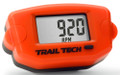 Trail Tech - Tto Tach Hour Meter Orange - 743-A00