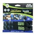 """Rokstraps - Motorcycle Strap Black/blue/green 18""""x60""""x1"""" - ROK10001"""