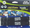 "Rokstraps - Motorcycle Strap Black/reflective 18""x60""x1"" - ROK10050"