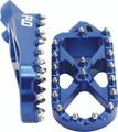 Flo Motorsports - Adventure/snow Footpeg Blue - SPEG-793BLU
