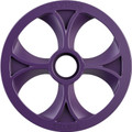 "Slydog - Vortex Bogie Wheel 10"" Purple Alpha Wheel A/c - BOG100UNVSOLPUR"