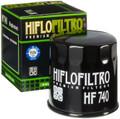 Hiflofiltro - Oil Filter - HF740