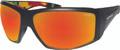 Bomber - Ahi Bomb Eyewear Matte Black W/red Mirror Polarized - AH111-RM-RSTA