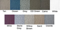 Deckrite  - Vinyl Flooring, 34 Mil, 6' x 15', OD Green (C3472COD-15)