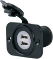 Actuant Electrical - Dual USB Charger Receptacle (12VDUSB)